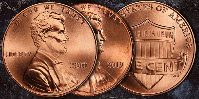 The 10th Anniversary of the Lincoln Shield Cent