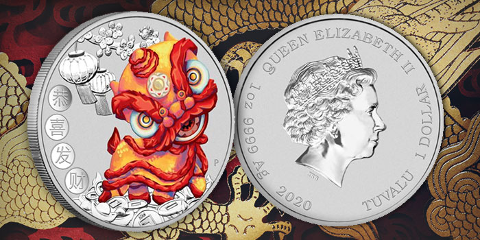 Perth Mint Coin Profiles - Tuvalu 2020 Chinese New Year 1oz Silver Coin