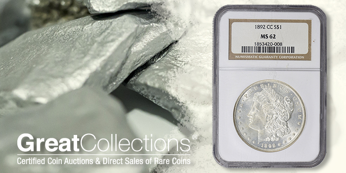 Mint State 1899-CC Morgan Dollar Highlight at GreatCollections.com