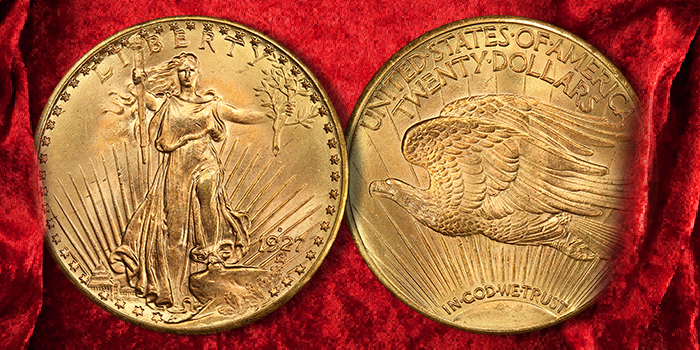 1927-D Double Eagle Highlights $42 Million Heritage FUN US Coins Results