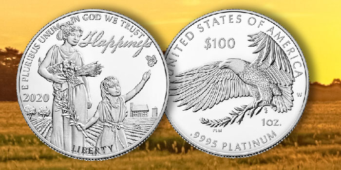 Preamble to Declaration of Independence Platinum Proof Coin Series