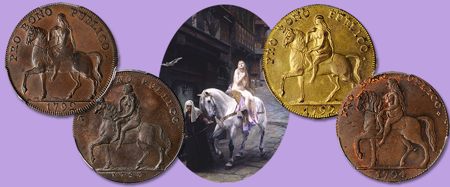 Lady Godiva trade tokens, Coventry, England - Stack's Bowers Galleries February 2020 Collectors Choice Online Auction