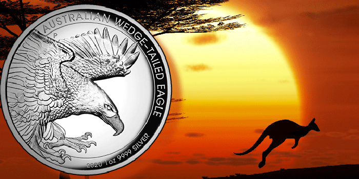 Perth Mint Coin Profiles - Australia 2020 Wedge-Tailed Eagle 1oz Silver Proof High Relief Coin