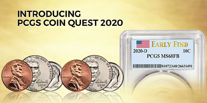 PCGS Coin Quest Continues in 2020