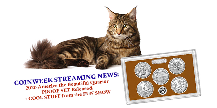 Streaming News: 2020 America the Beautiful Quarter PROOF SET Released…