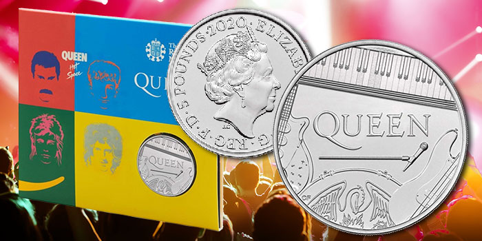 UK Music Legends Queen to be Celebrated on Royal Mint Coin