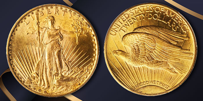 Coin Profiles: United States 1924 Saint-Gaudens $20 Double Eagle Gold Coin