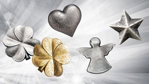 Symbols of luck, love and positive emotions - The Silver Charms series