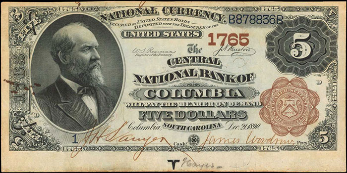 Small size currency specialists will be excited by a Fr.2408 1928 $1000 Gold Certificate graded Gem New 65 PPQ by PCGS Currency. That lot carries an estimate of $175,000-$275,000.