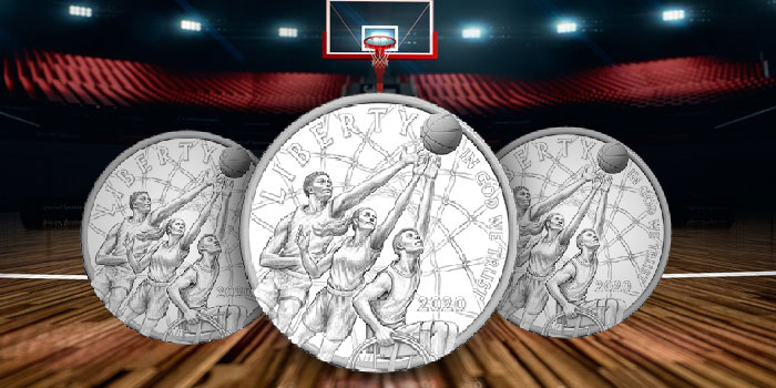 United States Mint to Open Sales for 2020 Basketball Hall of Fame Commemorative Coins June 4