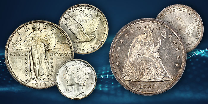 David Lawrence Rare Coin Auctions - Internet Auction 1104