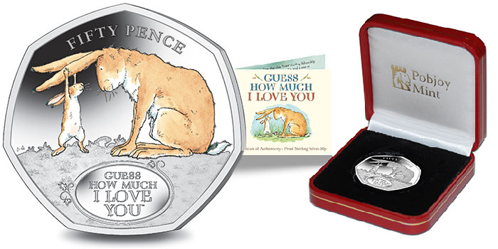New Coin Commemorates 25th Anniversary of Beloved Children's Book Guess How Much I Love You