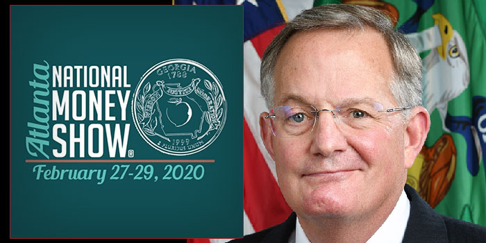 US Mint Director David J. Ryder to Participate in ANA 2020 National Money Show