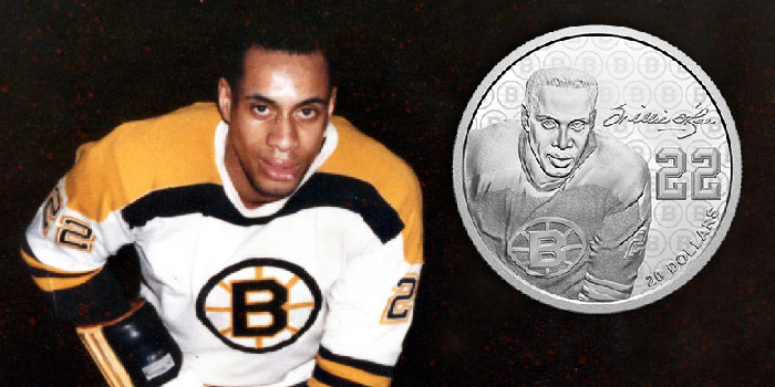 Royal Canadian Mint Dedicates 2020 Black History Month Coin to NHL Trailblazer Willie O'Ree