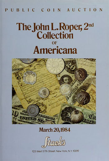 John L. Roper, 2nd Collection of Americana