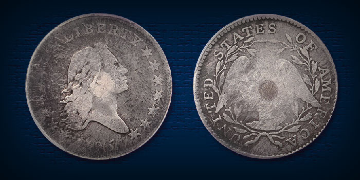 Rare Silver Plug 1795 Half Dollar Featured in Stack's Bowers Baltimore Auction