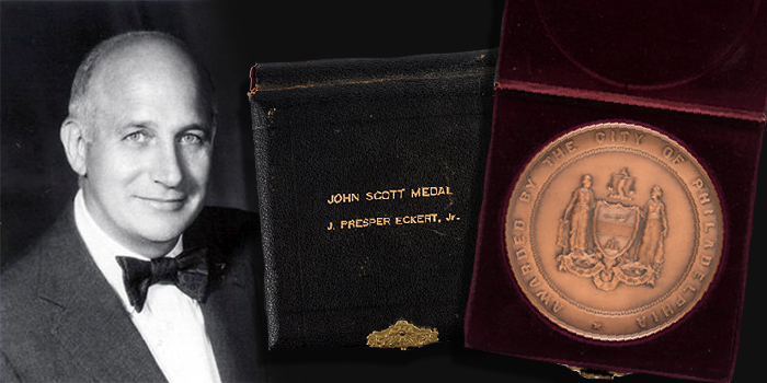 Medal Awarded to Inventor of First Large-Scale Electronic Computer Featured in Heritage Americana & Political Auction