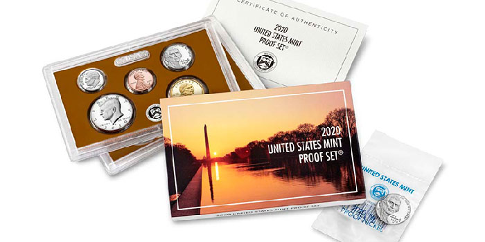 2020 United States Mint Proof Set Available Feb. 27