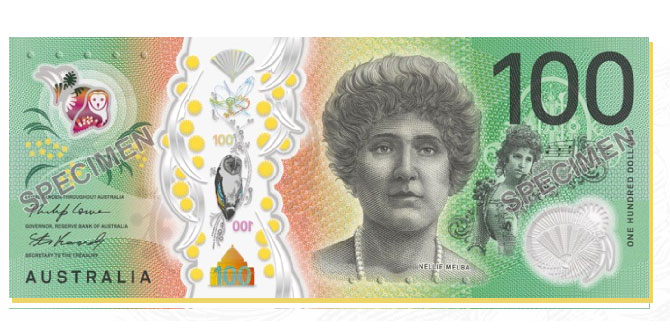 Australia Reveals Design of Next Generation $100 Banknote