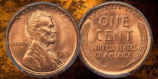 Classic US Coin Profiles: Possibly the Finest 1916-D Lincoln Cent