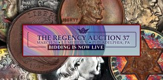 Regency Auction 37 by Legend Rare Coin Auctions