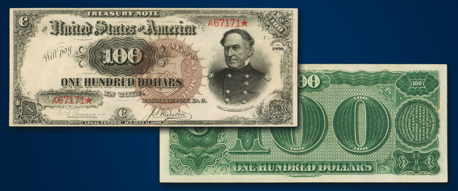 "Finest Known $100 ""Watermelon"" Note Featured in Stack's Bowers March Baltimore Auction"
