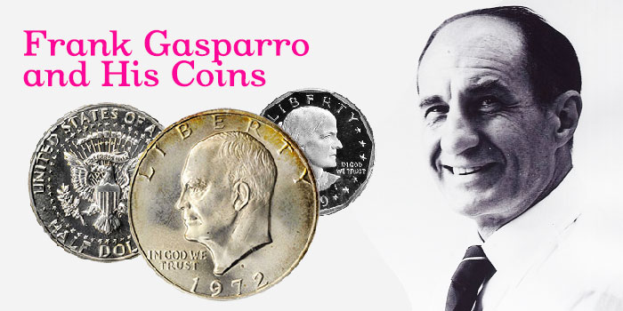 Frank Gasparro and His Coins