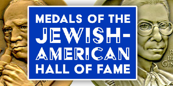 New Book on Medals of the Jewish-American Hall of Fame 1969-2019 Published