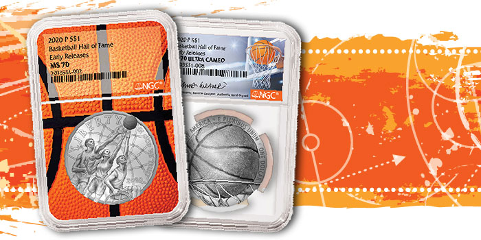NGC Announces All-Star Lineup for 2020 Basketball Hall of Fame Commemorative Coins
