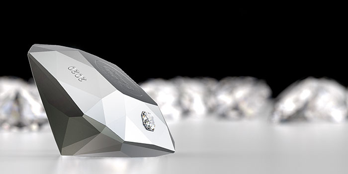 Royal Canadian Mint Presents First-Ever Collectible Coin in Shape of Cut Diamond