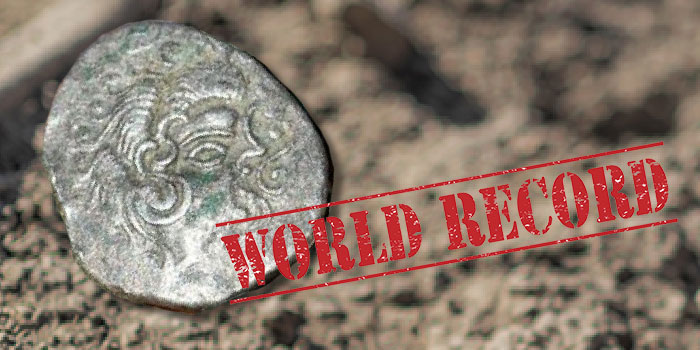 $12.8 Million Celtic Coin Hoard Sets Guinness World Record