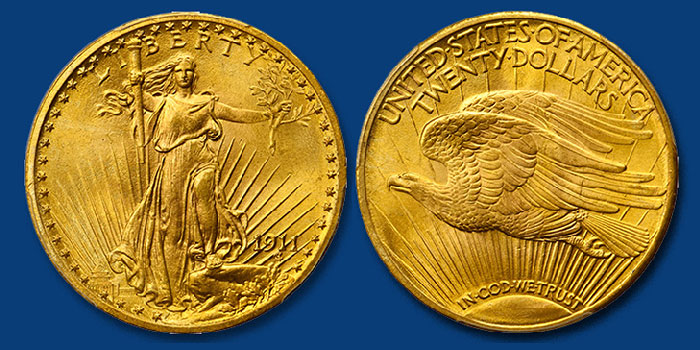 Superior Gem 1911 Double Eagle Featured in Stack's Bowers June 2020 Auction