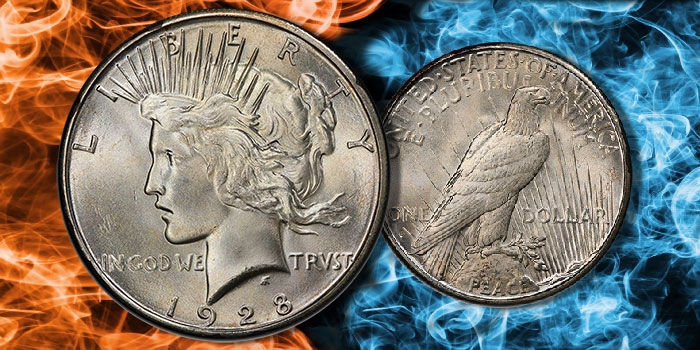 CAC-Approved 1928-S Peace Dollar MS-65 at GreatCollections