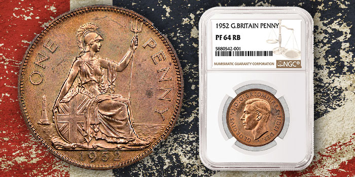NGC Certifies Unique 1952 Great Britain Penny