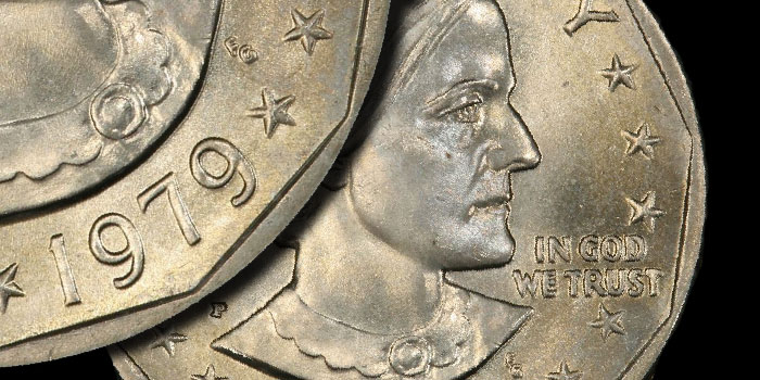 Modern Coin Profiles: United States 1979-P Susan B. Anthony Dollar