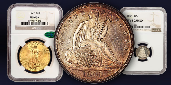 Special Collection of Seated Liberty Dimes and Half Dimes at David Lawrence Rare Coins