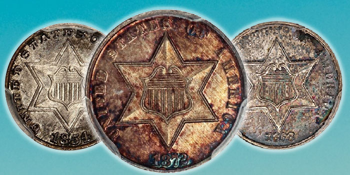 Southern City 3-Cent Silver Collection at David Lawrence Rare Coins