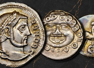 Ancient coins from Morris Collection offered by Heritage Auctions