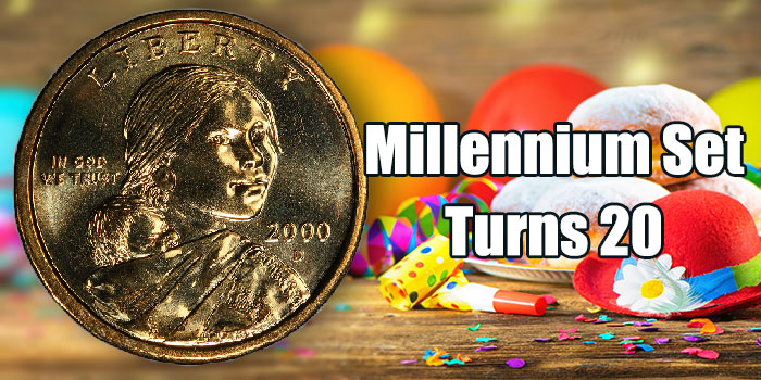 The 2000 United States Millennium Coinage & Currency Set Turns 20
