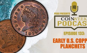 CoinWeek Podcast: Early US Copper Planchets with Bill Eckberg, EAC
