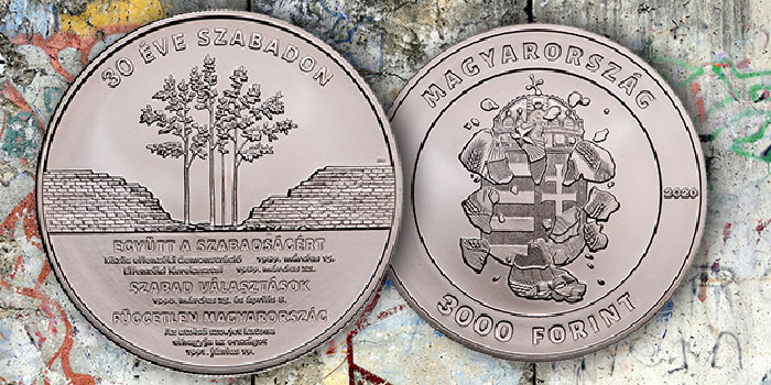 Hungary Issues Massive Coins Commemorating 30 Years of Freedom, Departure of Last Russian Soldier