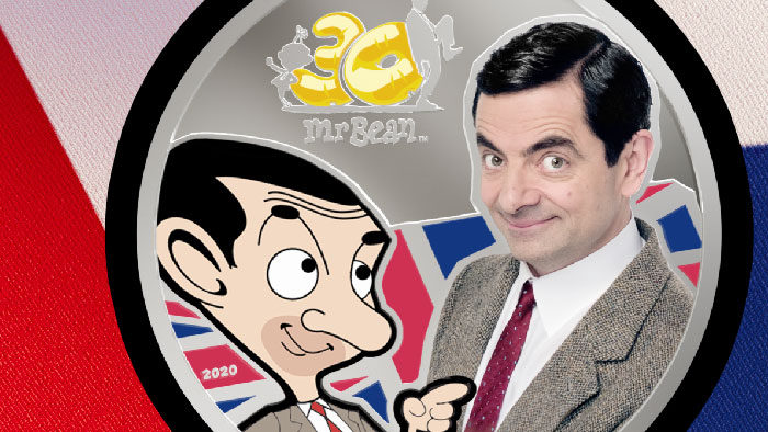 British Icon Mr. Bean Celebrated on New Coin From CIT