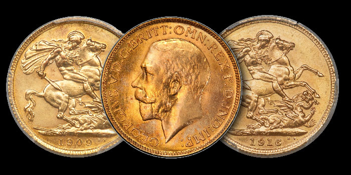 The Caranett Collection of Gold Sovereigns Month-Long Heritage Auction