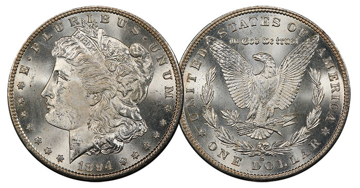 1894-S Morgan Dollar. Image: PCGS.