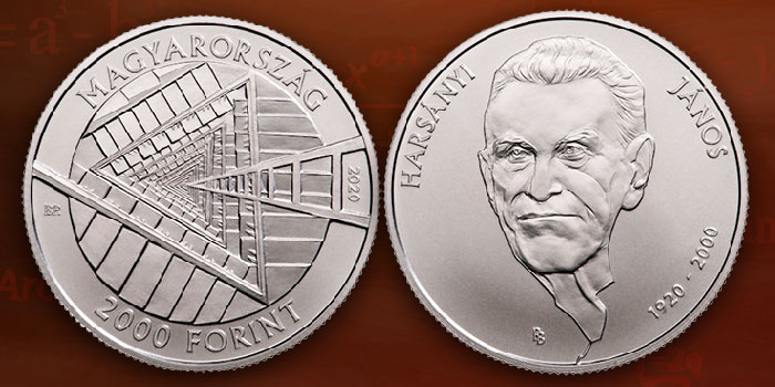 Hungarian Mint Commemorates Nobel Prize Winner János Harsányi