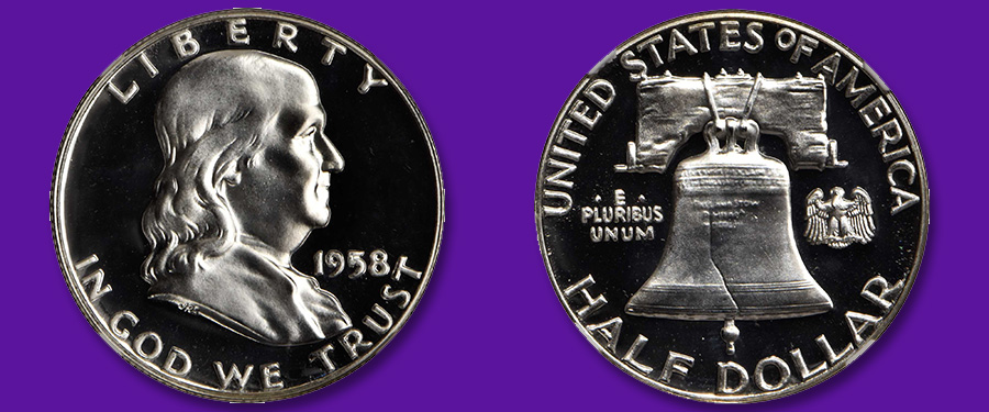 Top Pop Proof 1958 Franklin Half Dollar Featured in Stack's Bowers June 2020 Santa Ana Auction