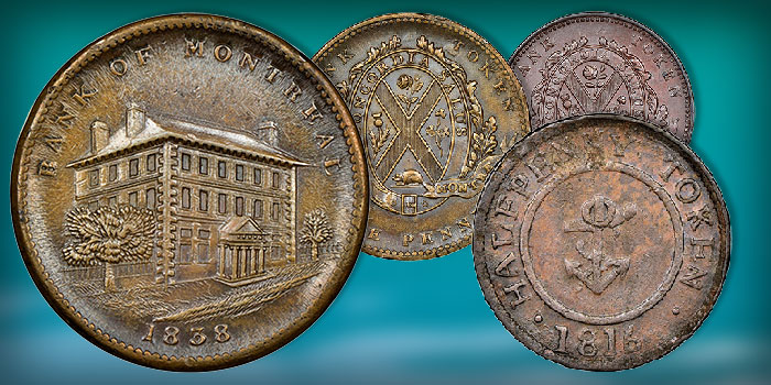 Canadian Tokens of Douglas Robins Collection Part II up for Bidding