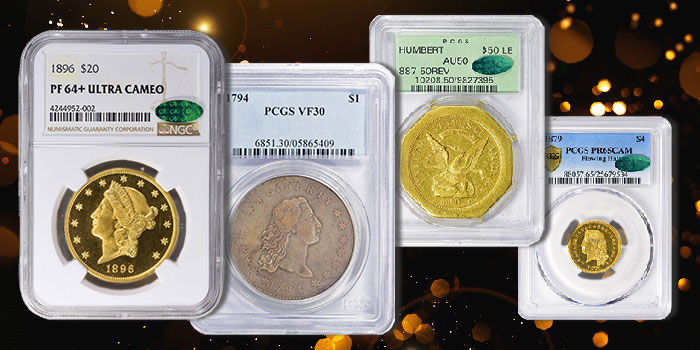 GreatCollections to Auction $6 Million Catskill Collection of Rare U.S. Coins