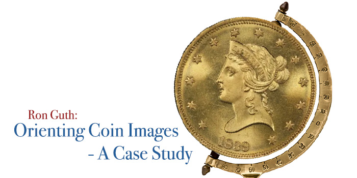 Coin Images and Their Orientation - A Case Study