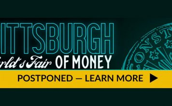 ANA World's Fair of Money 2020 in Pittsburgh, Pennsylvania suspended